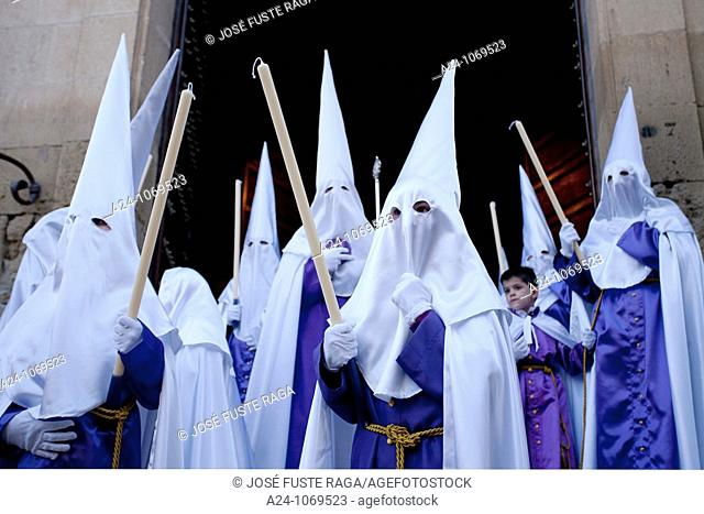 Good Friday procession, Montefrio, Granada province, Andalusia, Spain