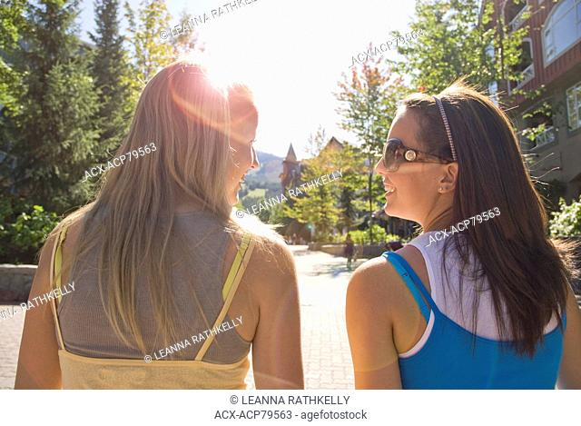 Ladies, from teens to Moms, enjoy a day shopping in Whistler Village in the summer