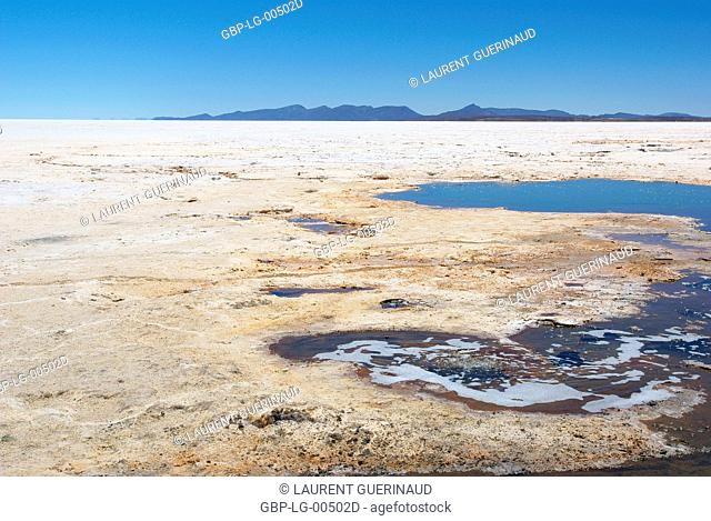 Salar of Uyuni, Desert of Lipez, Department of Potosi, Sud Lipez Province, La Paz, Bolívia