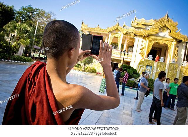 Myanmar, Mandalay, Mahamuni paya