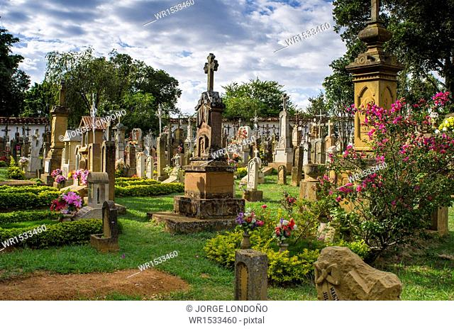 Barichara Cemetery, Barichara, Santander, Bucaramanga, Colombia