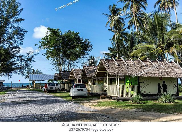 Dynawood Beach Stay, Kampung Pueh, Sematan, Sarawak, Malaysia