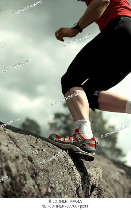 A man jogging, Sweden