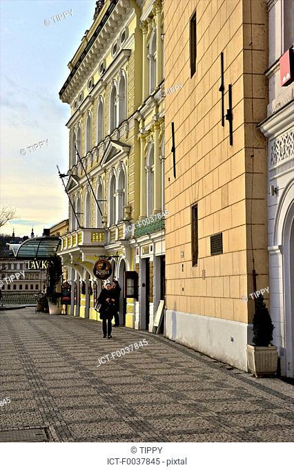 Czech Republic, Prague, hotel near Vltava river