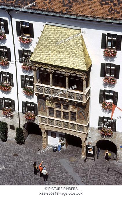 Golden Roof, old town. Innsbruck. Austria