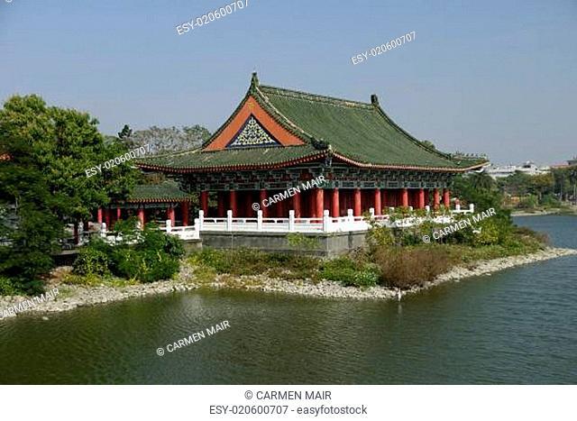 Alter Konfuzius Tempel in Kaohsiung