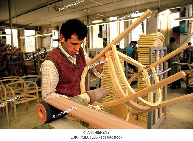 Thonet chair factory