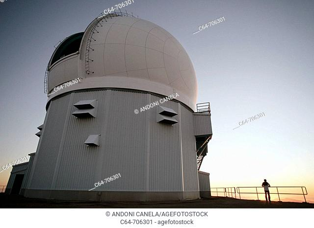 Astronomical Observatory of SOAR. Cerro Pachón. Coquimbo region, Chile