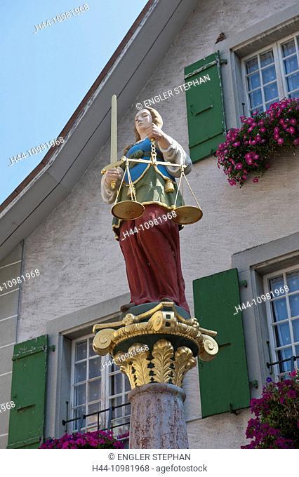 Lutry village in Vaud