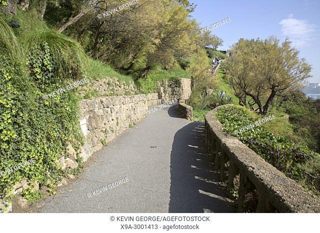 Cliff Walk at Biarritz; France