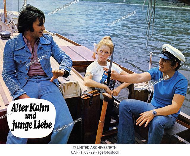 Alter Kahn und junge Liebe, Deutschland 1973, Regie: Werner Jacobs, Darsteller: Roy Black, Peter Millowitsch, Jutta Speidel