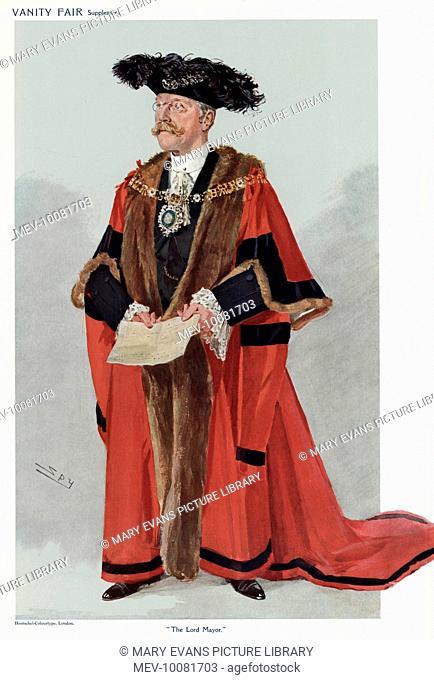 SIR GEORGE TRUSCOTT Lord Mayor of London