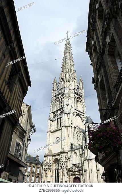 Église Saint Martin of Harfleur (Church of Saint Martin of Harfleur. Harfleur, Seine-Maritime Department, Normandy Region, France, Europe