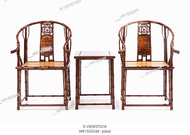 Chinese chair and tea table