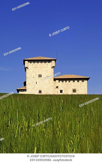 Palace of Varona, Villanane, Burgos Province, Castilla Leon, Spain