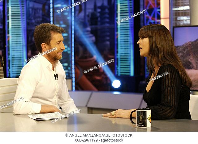 Madrid, Spain. Actress Monica Bellucci attends El Hormiguero TV show.29/05/2017 (Photo by Angel Manzano).