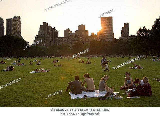 Central Park  Sheep Meadow,New York City, USA