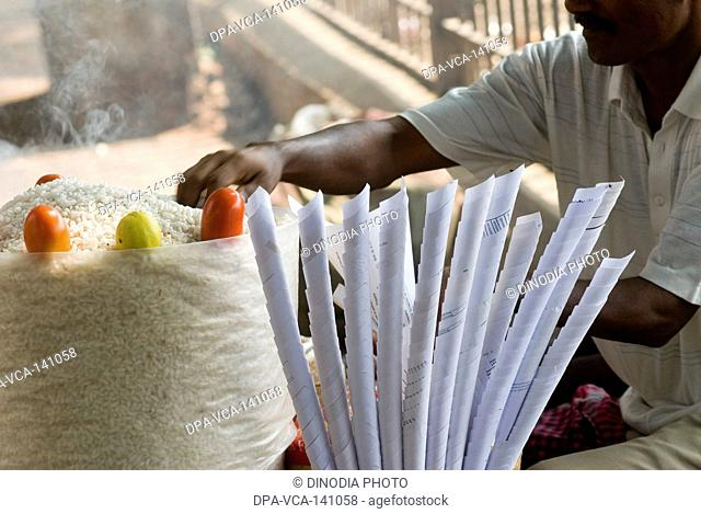 Sing chana on the streets being sold