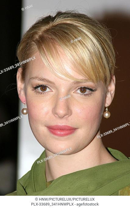 Katherine Heigl 12/14/05 THE RINGER @ DGA, Hollywood photo by Jun Matsuda/HNW / PictureLux (December 14, 2005) File Reference # 33689-341HNWPLX