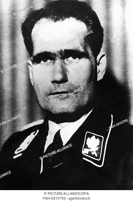 Undated picture of Adolf Hitler's deputy and Reich Minister without portfolio, Rudolf Heß. - /Germany
