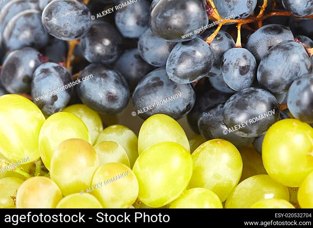 Grapes are two different kinds