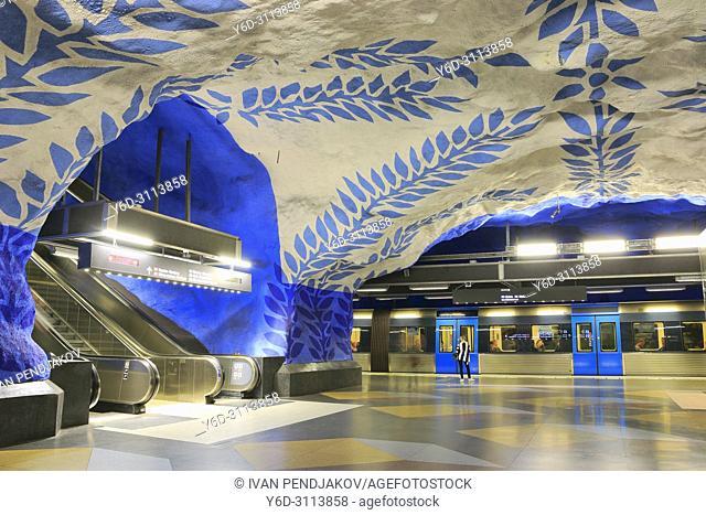 T-Centralen Metro Station, Stockholm, Sweden