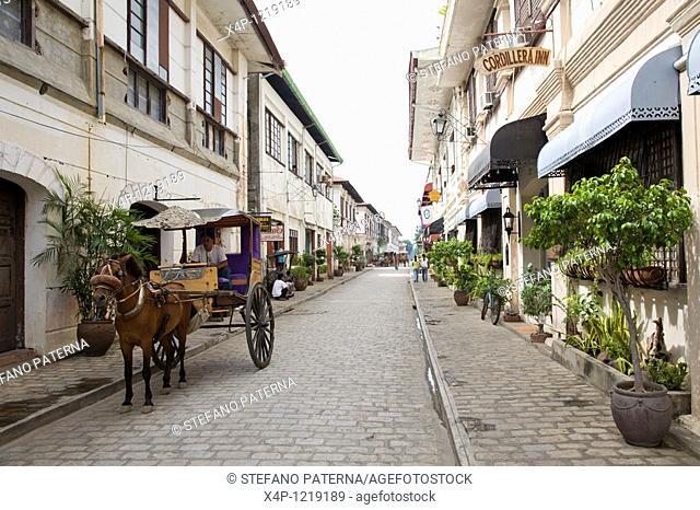 Vigan, Northern Luzon, Philippines