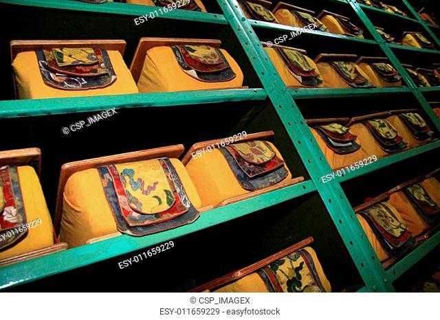 Tibetan Library, Mcleod Ganj, India