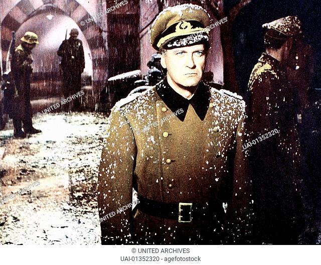 London Ruft Nordpol, 1950er, 1950s, Film, Kriegsfilm, Londra Chiama Polo Nord, Schnee, snow, war movie, London Ruft Nordpol, 1950er, 1950s, Film, Kriegsfilm
