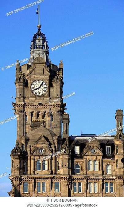 UK, Scotland, Edinburgh, Balmoral Hotel