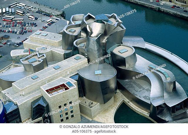 Guggenheim Museum. Bilbao. Vizcaya. Euskadi. Spain