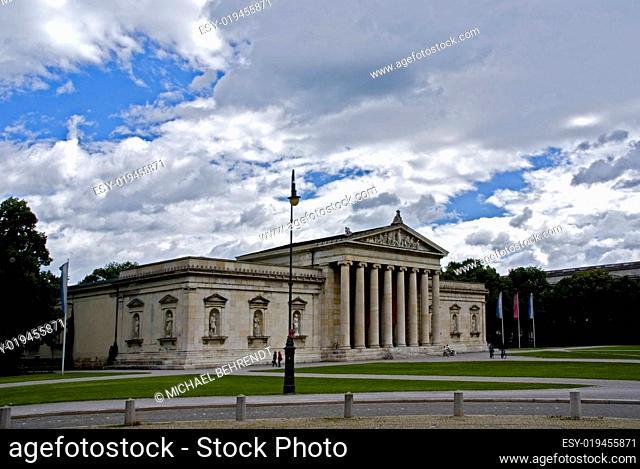 München, Königsplatz - Antikensammlung