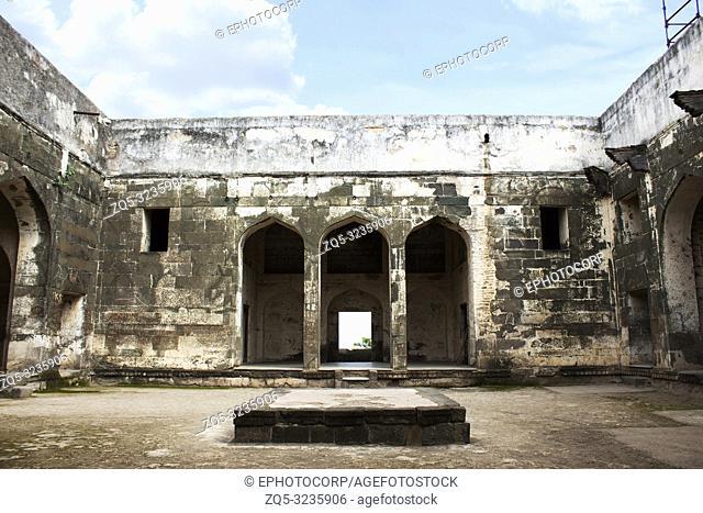 Daulatabad Deogiri fort wall, Aurangabad, Maharashtra, India