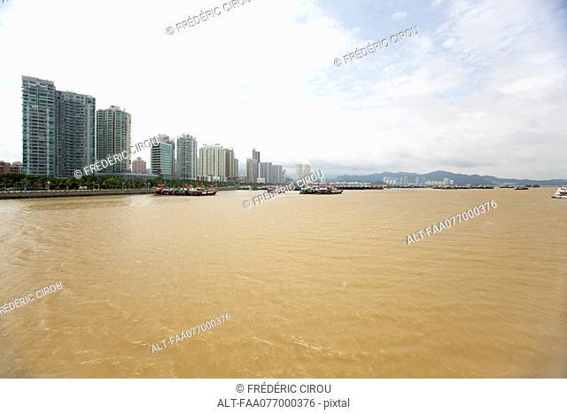 Developed coast, Shandong province, China