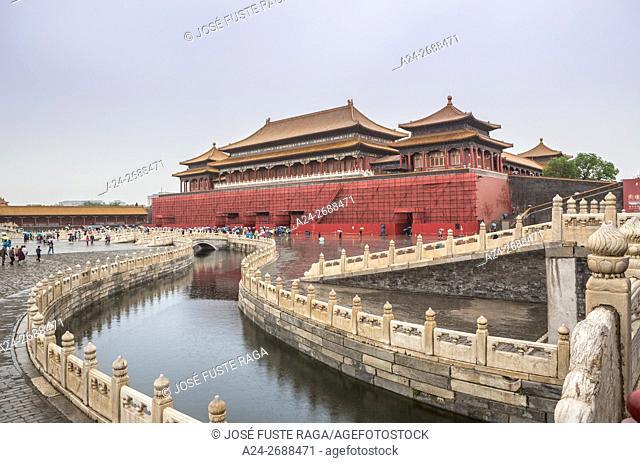 China, Beijin City, The Forbidden City, (W. H. ),