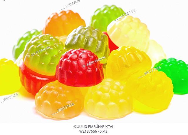 group of transparent goodies