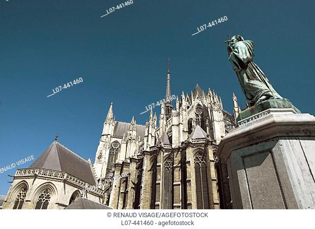 Cathedral of Amiens. Amiens. France