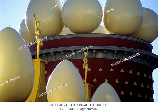 Dalí's Theatre Museum  Torre Galatea  Girona province  Catalonia  Spain