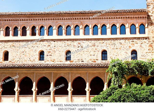 Nuestra señora de Guadalupe cloister UNESCO world heritage site, Guadalupe, Caceres
