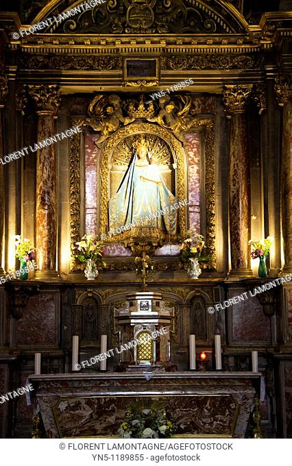 France, Aquitaine province, Departement of Gironde 33, Verdelais   The village celebrates the Blessed Virgin Sainte Marie with an important pilgrimage on the...