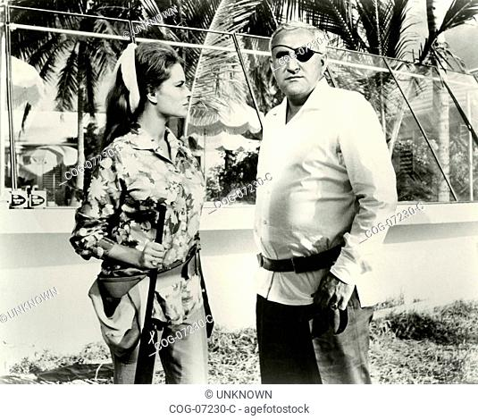 The actor Adolfo Celi in a scene from the film 007 - Thunderball, UK