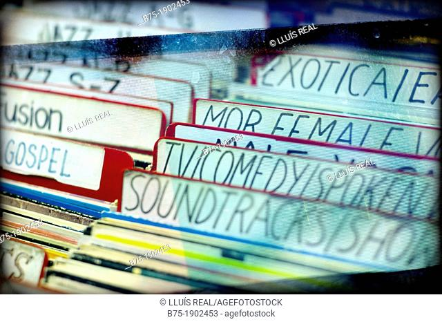 UK, England, London, Records organized by artist name
