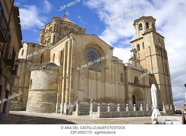 Saint Mary collegiate church at Toro city in Zamora province Castile Leon Spain