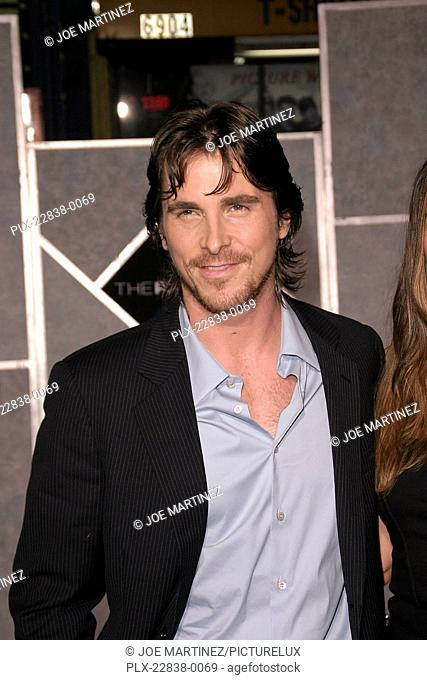 The Prestige (Premiere) Christian Bale 10-17-2006 / El Capitan Theater / Hollywood, CA / Touchstone Pictures / Photo by Joe Martinez