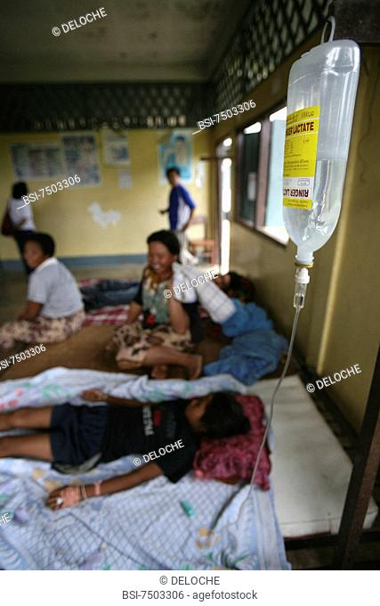 Photo essay for press only. Free clinic in Laos