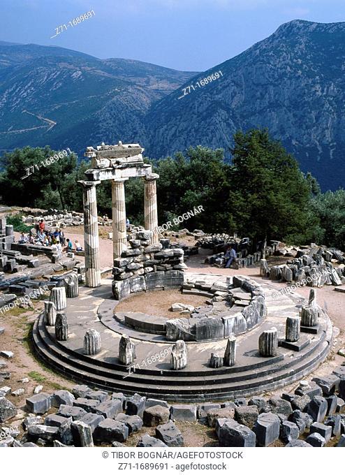 Greece Delphi Sanctuary of Athena Pronaia