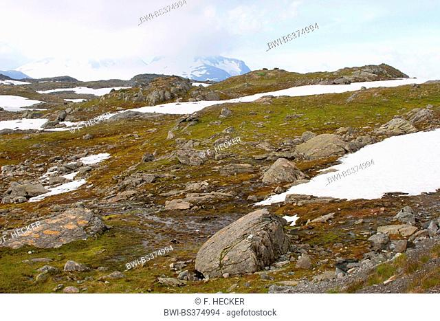 landscape at the Jotunheimen National Park, Norway, Jotunheimen National Park