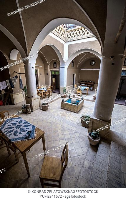 Kamalalmolk Traditional Guest House in Kashan city, capital of Kashan County of Iran