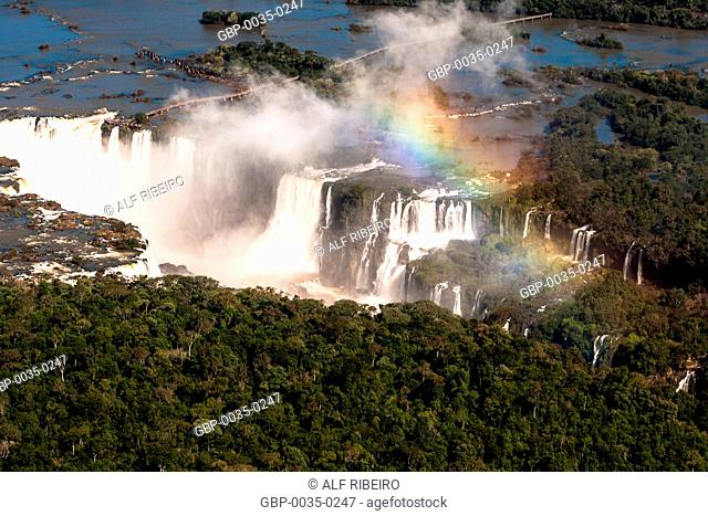 Waterfalls of Iguaçu; Iguaçu National Park; Foz do Iguaçu; PR; Paraná; Brazil