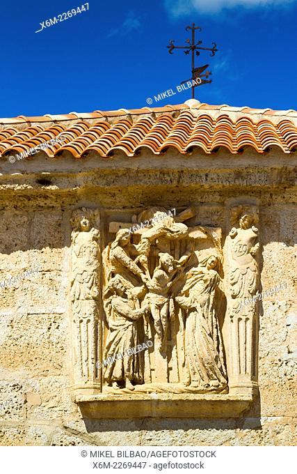 Santo Cristo shrine. Pesquera de Duero village, Valladolid, Castile and Leon, Spain, Europe